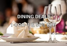 Best 1-for-1 dining & other deals in Hong Kong