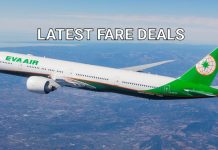 Eva Air Latest Deals & Offers fro Hong Kong