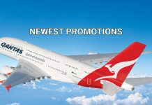Qantas Airways Promotions for flight from Hong Kong