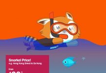 Jetstar Hong Kong: Snorkel Price - Fares from $88