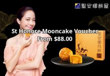 St Honore Cake Shop - Mooncake Voucher From $88.00 (RRP. $185)