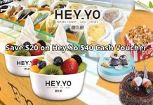 Save $20 on Hey.Yo $40 Cash Voucher