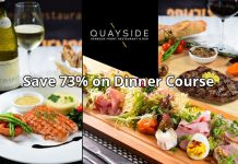 Save $682 on Quayside Al Fresco Dinner Course