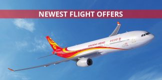 Hong Kong Airlines Flight Offers for 2019