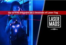 Lasermads: Up to 61% Discount on 2 Sessions of Laser Tag
