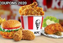 KFC promotions for 2020