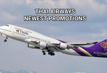 Thai Airways promotions for 2019