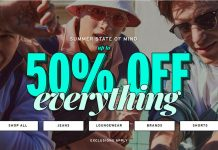 Topman offers 50% OFF everything 10 Apr 2020