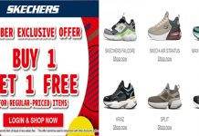 Skechers Buy 1 Get 1 Free 12 May 2020