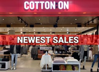 COTTON ON NEWEST SALES