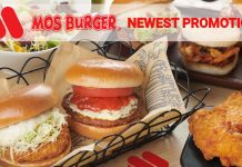 MOS Burger promotions