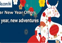 Expedia HK Lunar New Year 2021 Sales